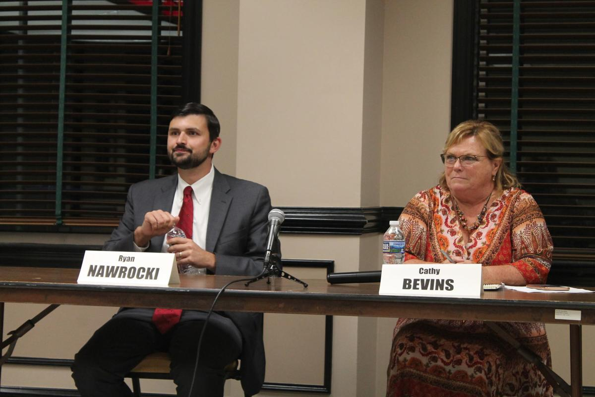 Bevins, Nawrocki discuss issues facing District 6