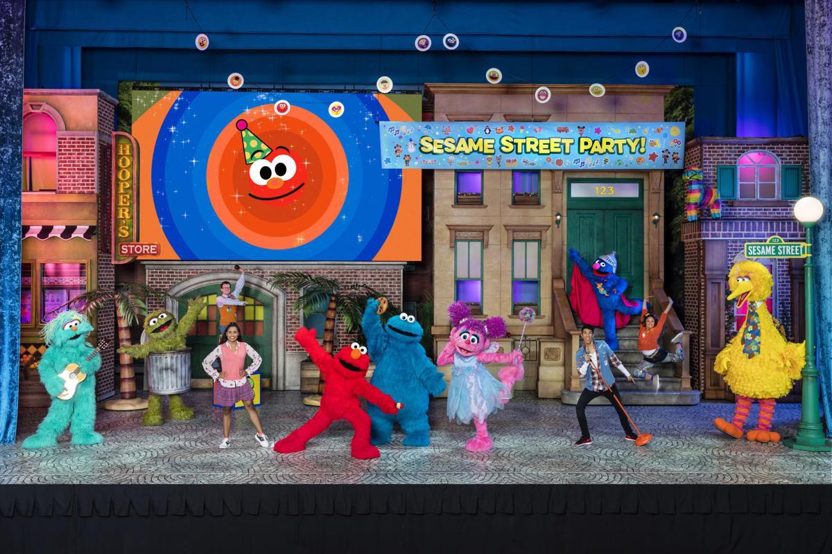 Baltimore performer stars as Elmo in Sesame Street Live
