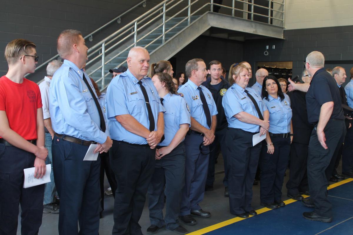 New White Marsh Volunteer Fire Co. building opens