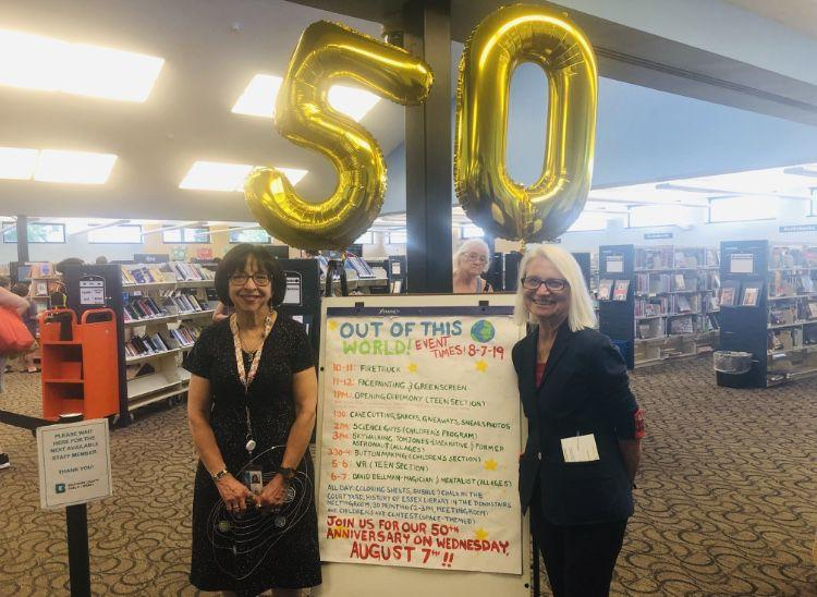 Essex library celebrates 50 year anniversary
