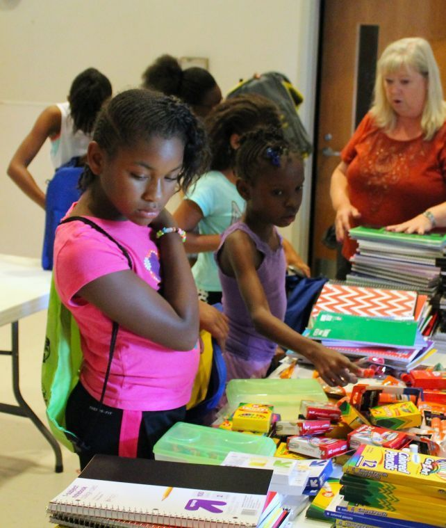 Middle River students benefit from Back to School Drive