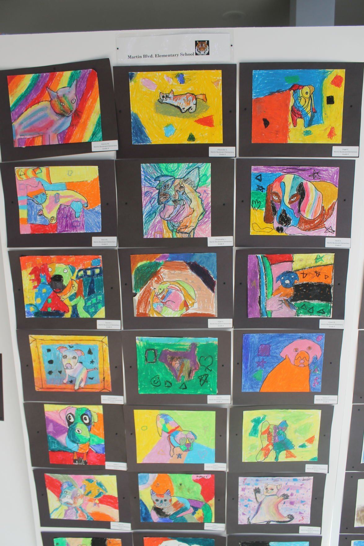 Local students create art to benefit MDSPCA