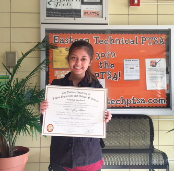 Eastern Tech junior represents school, state at national conference