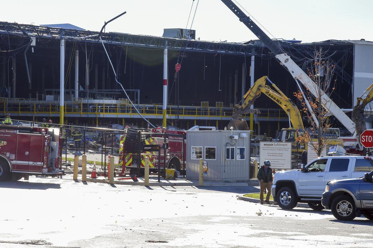 Amazon Warehouse Collapse
