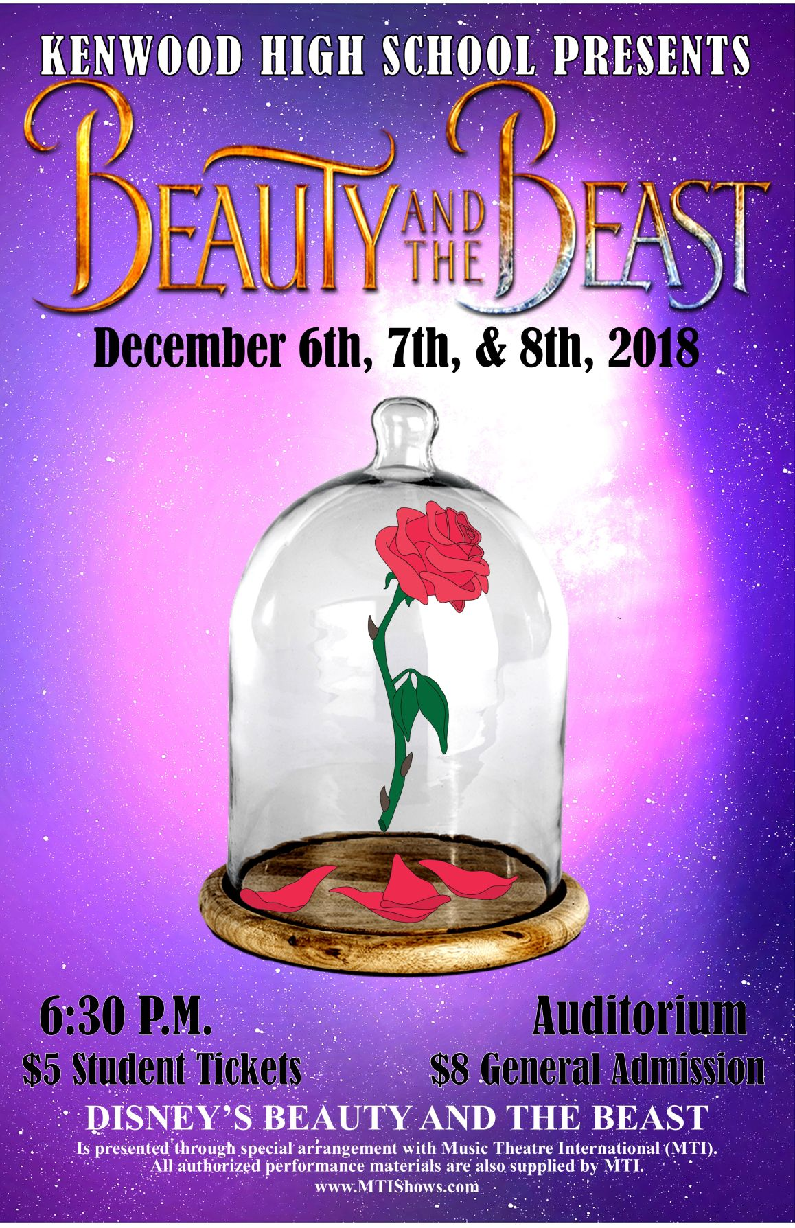 Kenwood HS Presents Beauty & the Beast