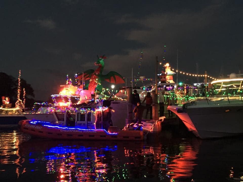 Middle River Lighted Boat Parade sets