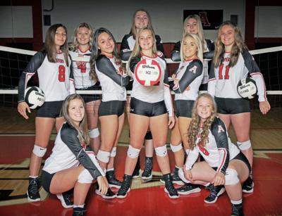 Avery varsity volleyball Camp