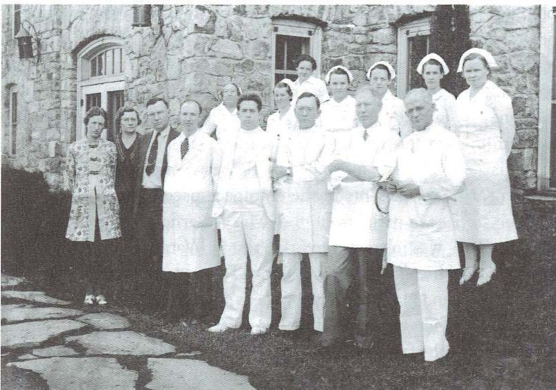 Hospital staff 1930s