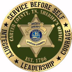 Carter County Sheriff's Office Logo