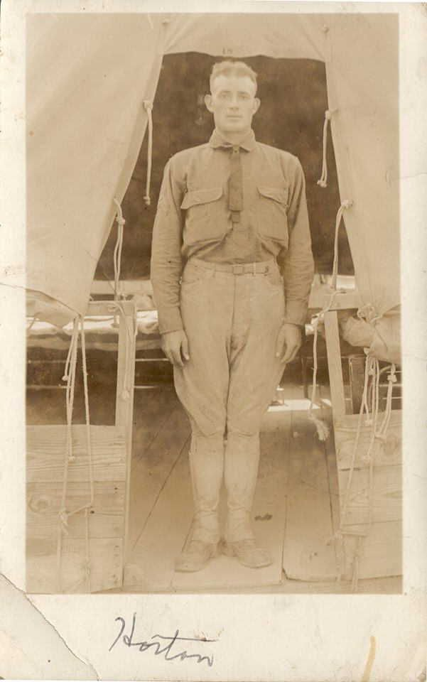 Cooper in military service