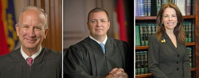 Justices installed