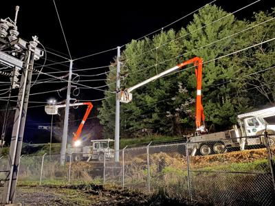 MEC conducts substation work