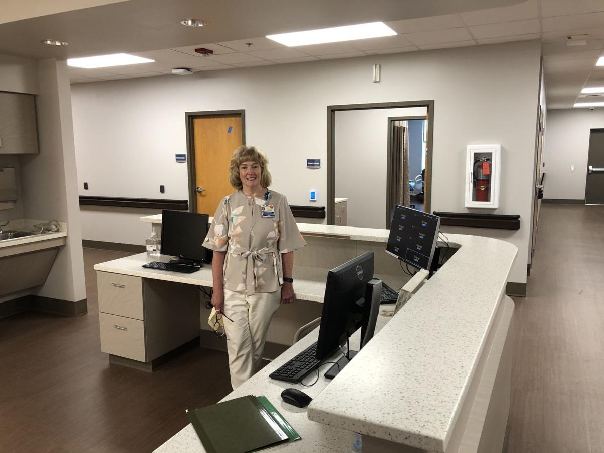 Lacey in new medical surgical unit