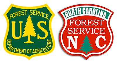 USFS and NCFS combined logos