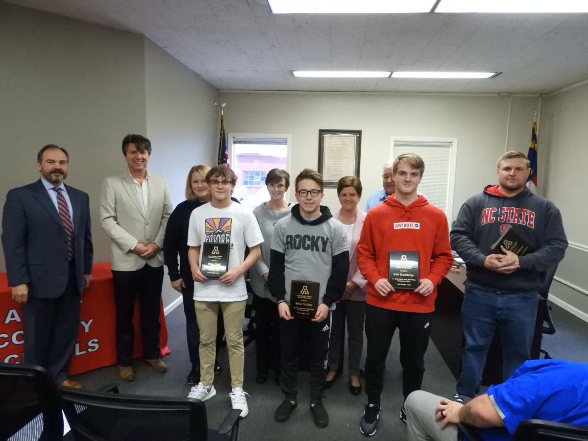 Individual ACHS wrestling winners recognized