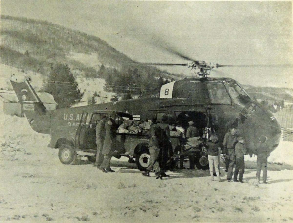 1960 National Guard arrives