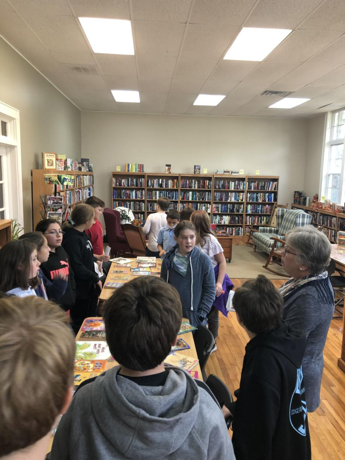 Book Exchange with kids