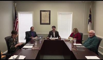 BOE holds virtual meeting