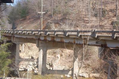 Watauga River bridge
