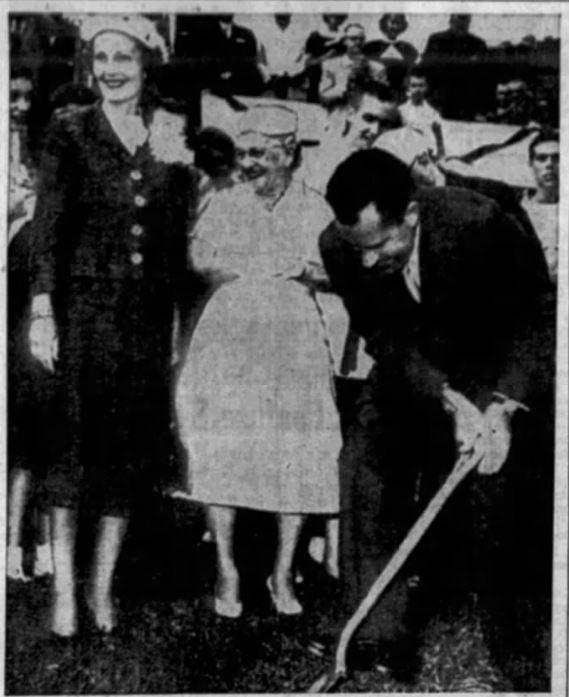 Nixon visits Banner Elk