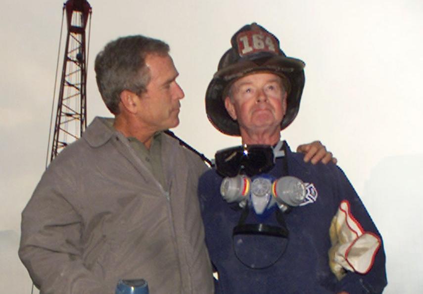 George W. Bush with Bob Beckwith