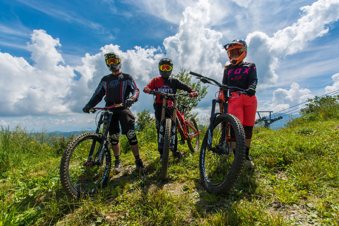 Bike trails SMR