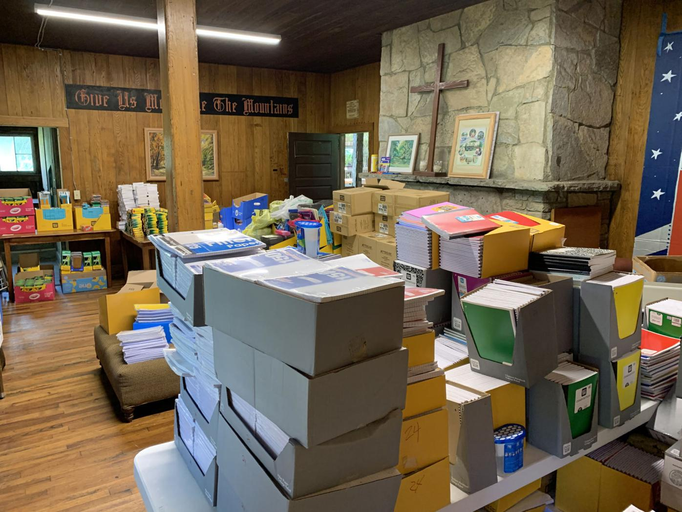 Lots of Paper and supplies