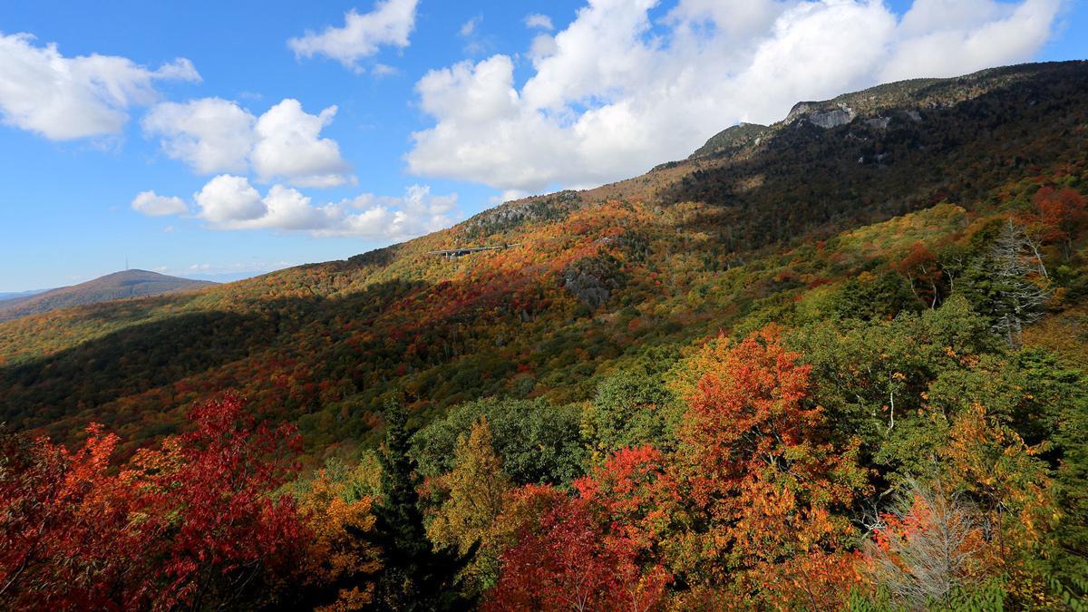 Colorful mountain