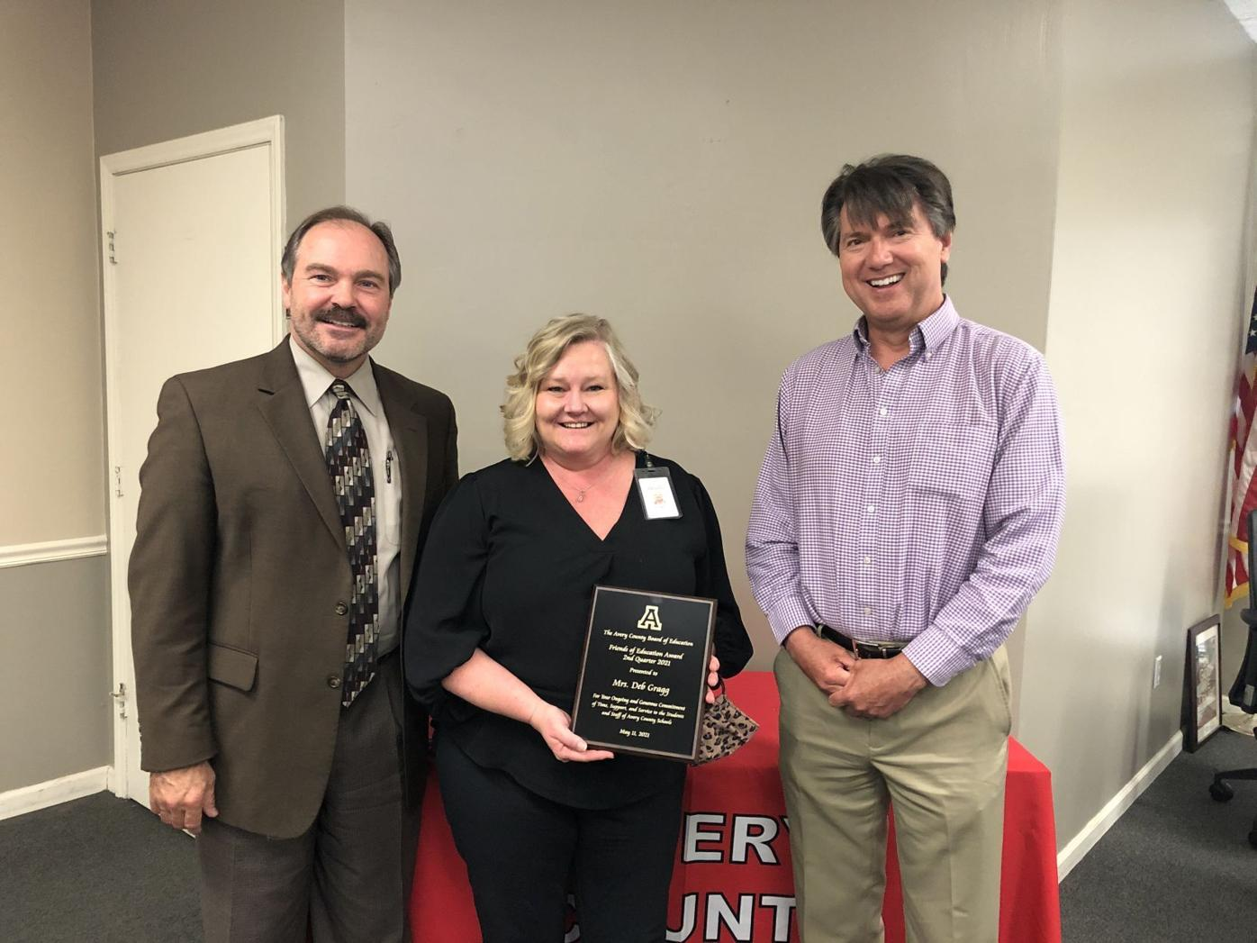 Gragg recognized as Friend of Education