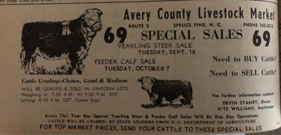 Avery Co. Livestock Market