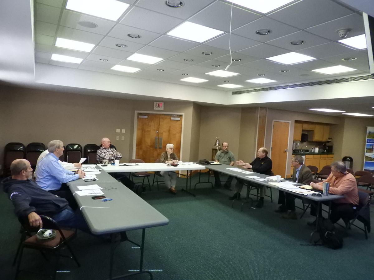 County officials discuss new community building