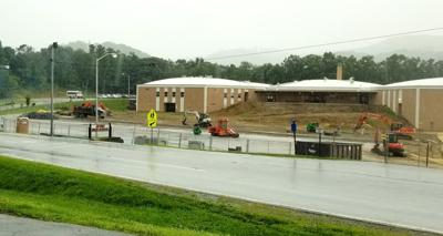 Construction under way at Avery County High School