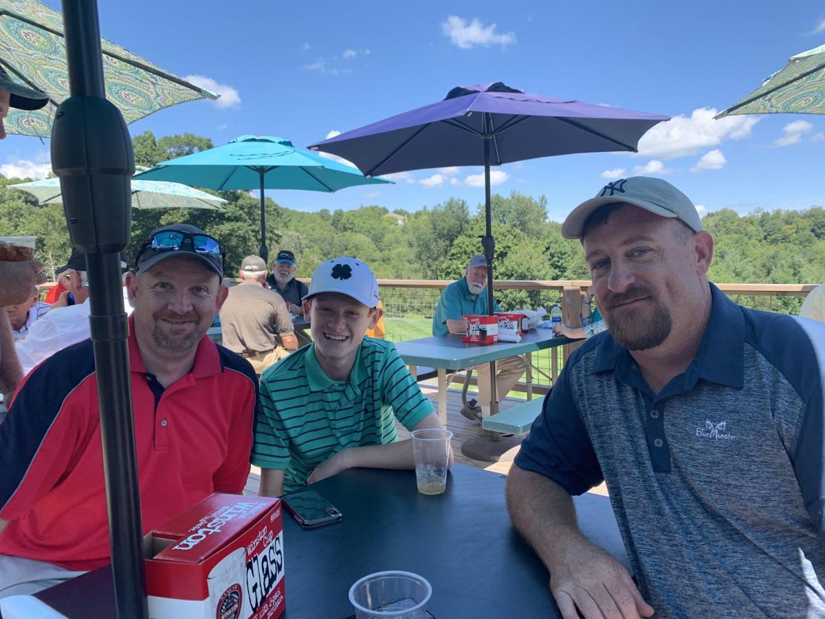 Golfers at Bobby McLean Memorial Golf tournament
