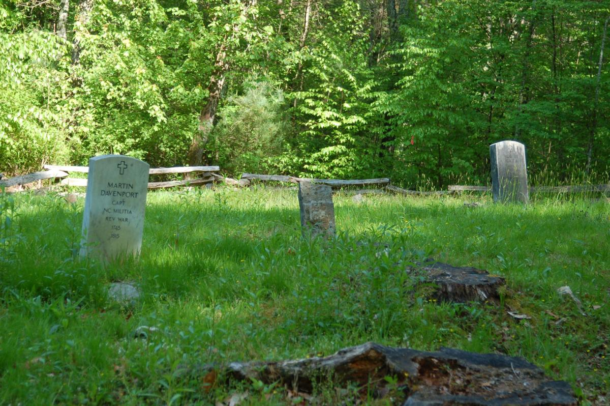 Sevier and Davenport graves
