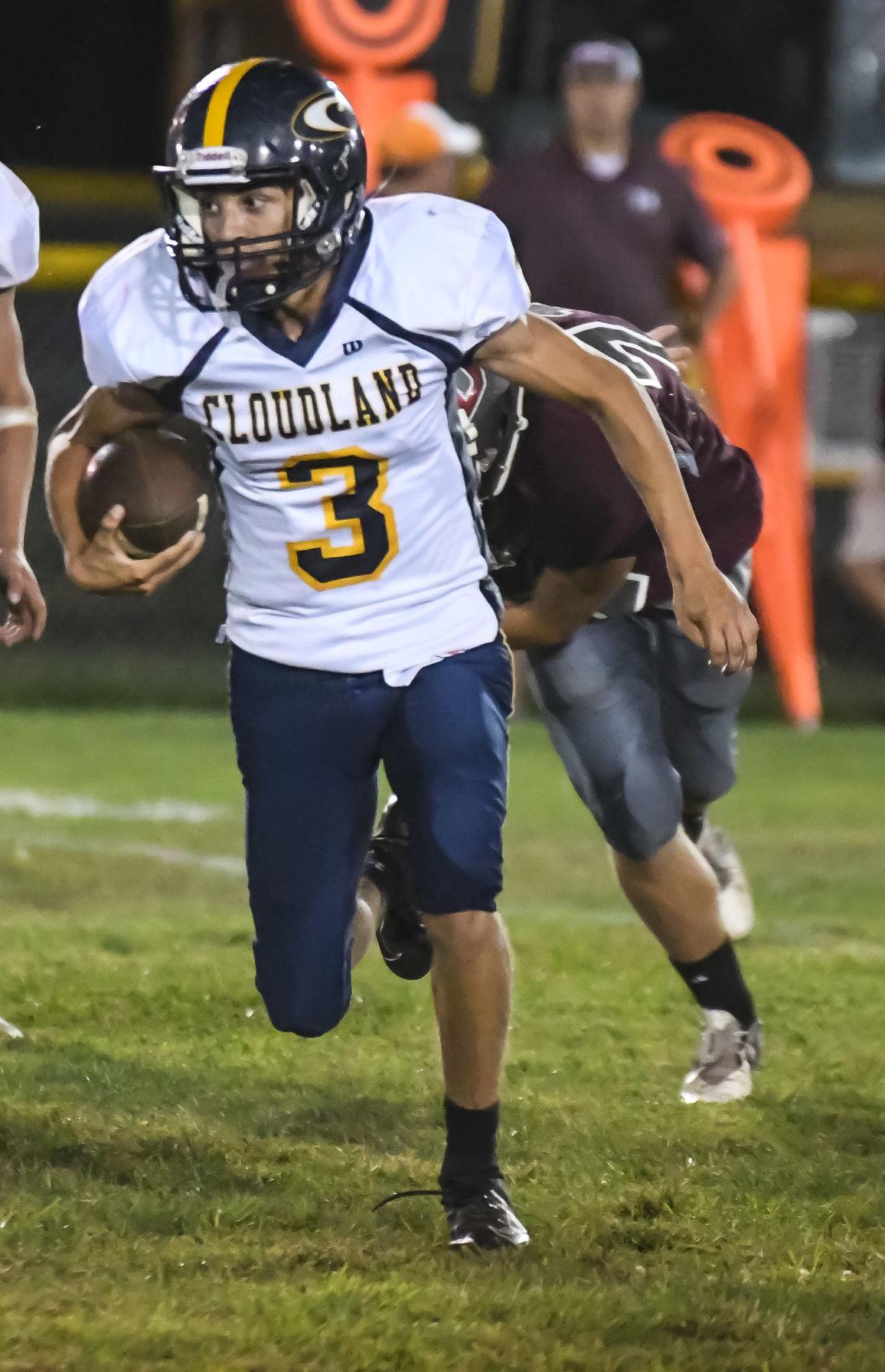 Seth Birchfield carries