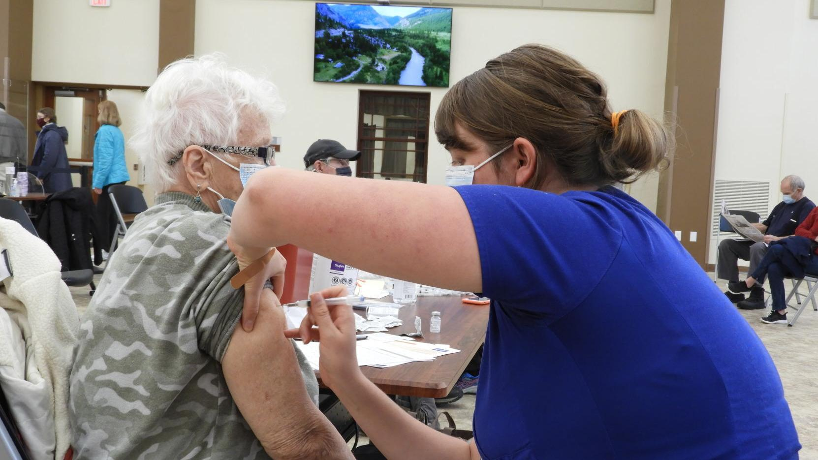 COVID-19 vaccines available for ages 75 and older