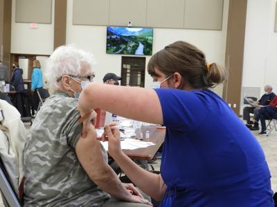 Barrier receives vaccine