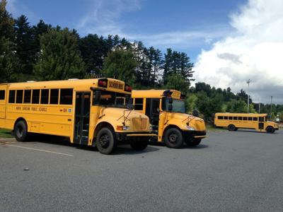 School buses with WiFi