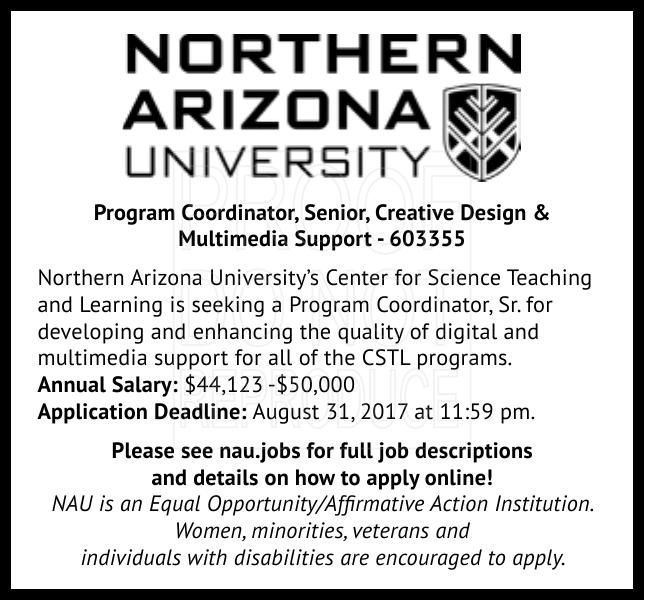 Program Coordinator, Senior, Creative Design &