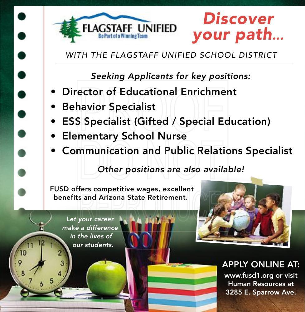 Director of Educational Enrichment, , Behavior Specialist, ESS Specialist (Gifted / Special Education), Elementary School Nurse & more.