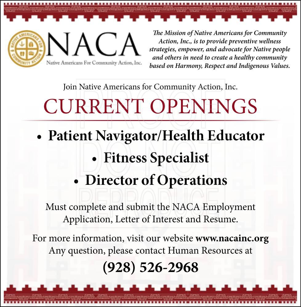 Patient Navigator/Health Educator, Fitness Specialist, Director of Operations