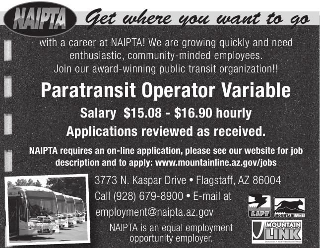 Paratransit Operator Variable