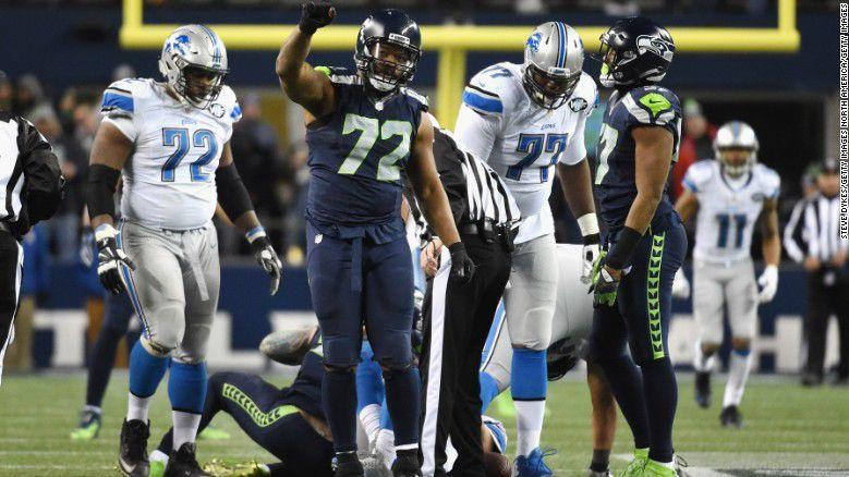 Michael Bennett: 'I can't stand for the national anthem'