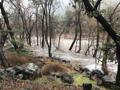 oak creek flooding 2/3/19