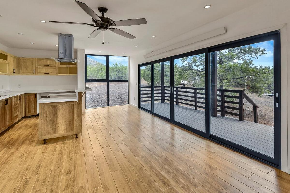 Container house kit interior