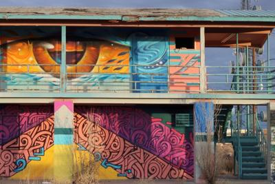 Painted Desert Project grows with addition of Gray Mountain mural