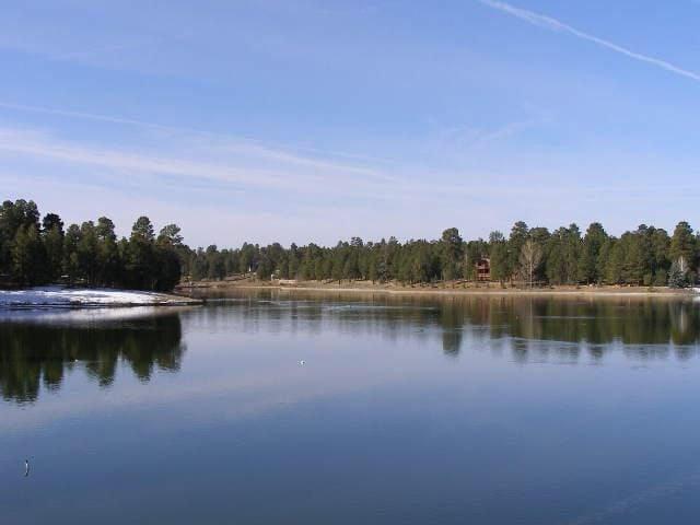 Lake Elaine before