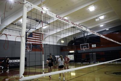 Coconino Volleyball Practice