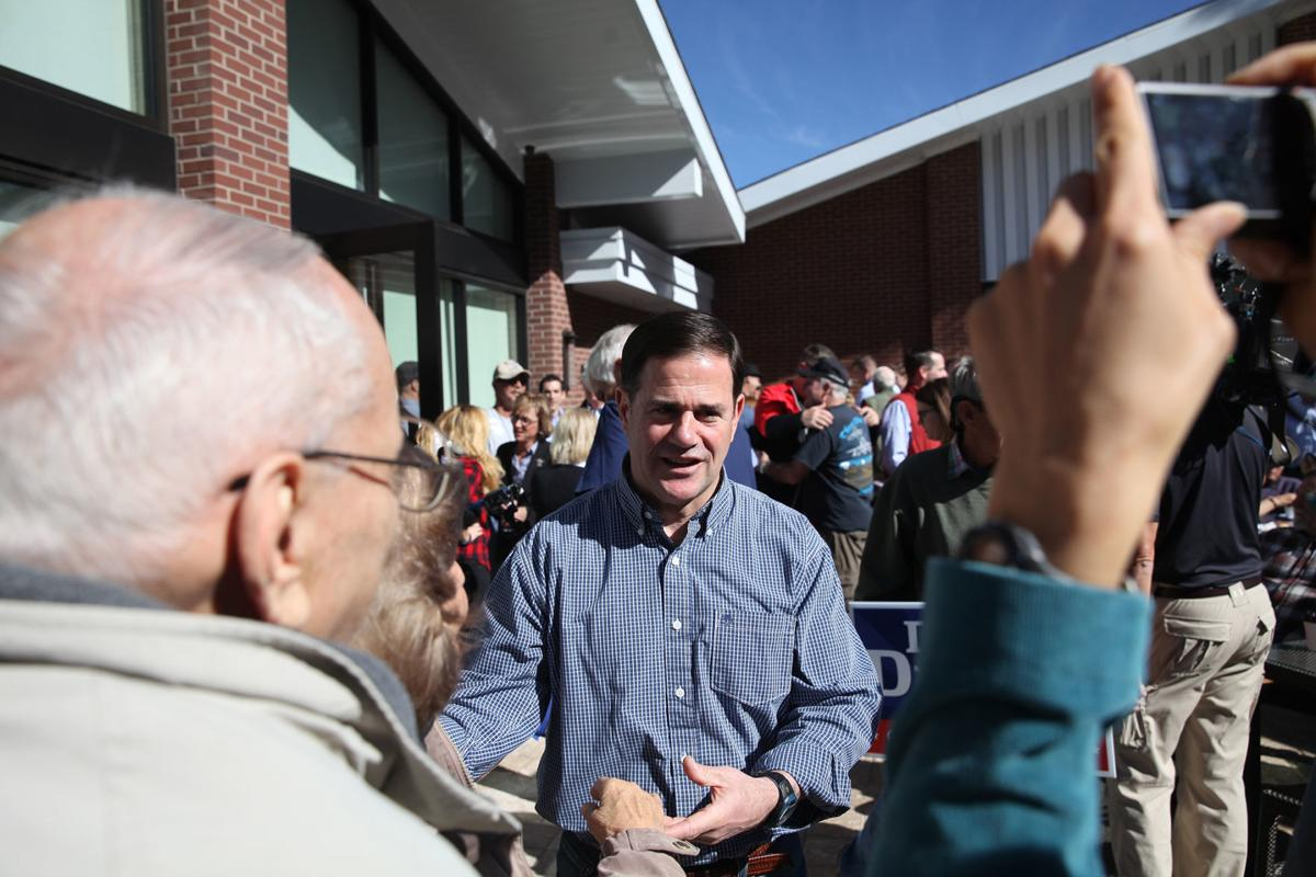 Ducey Visits Flagstaff