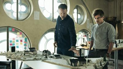 "Anton Berg and Martin Johnson in ""Pray, Obey, Kill."""